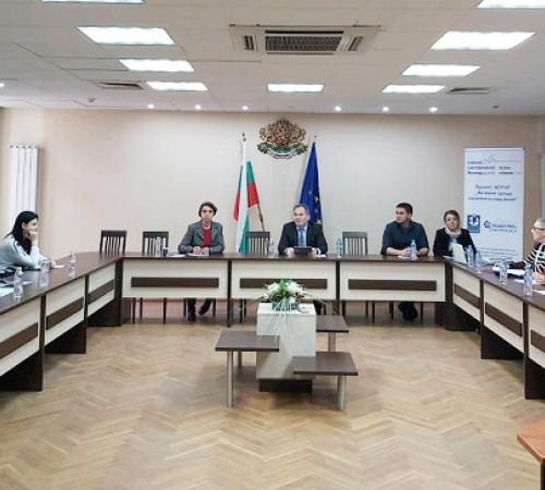 Workshop to discuss a monitoring system of public policies and practices with representatives of the courts, Prosecutor's offices, police, and social services in Silistra District
