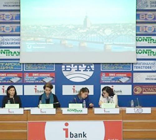 "Press conferences ""Pro-active against Violence against Women"" project"